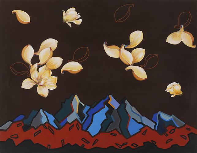 꽃잎 춤추다2